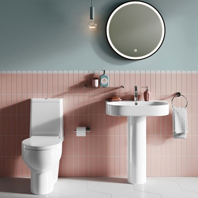 Britton Trim Ceramics Collection | Modern Bathroom Design